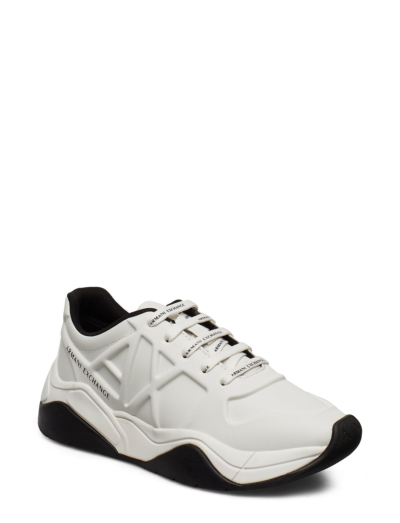 ARMANI EXCHANGE Ax Woman Shoes Niedrige Sneaker Weiß ARMANI EXCHANGE