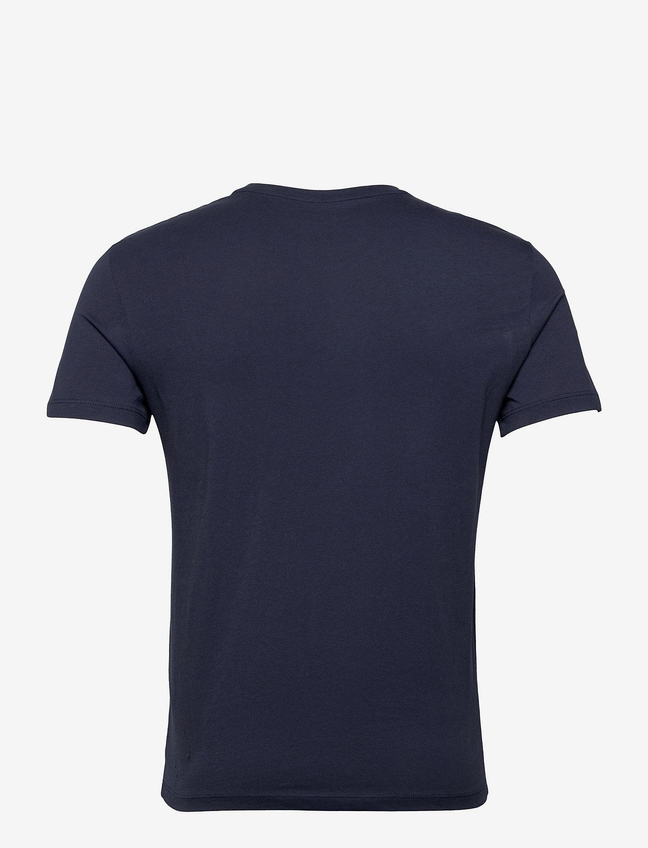 Armani Exchange - 3KZTND ZJ8HZ - t-shirts à manches courtes - black iris - 1