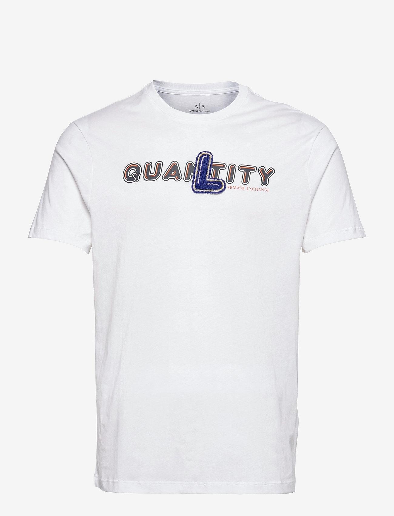 Armani Exchange - 3KZTND ZJ8HZ - t-shirts à manches courtes - white - 0
