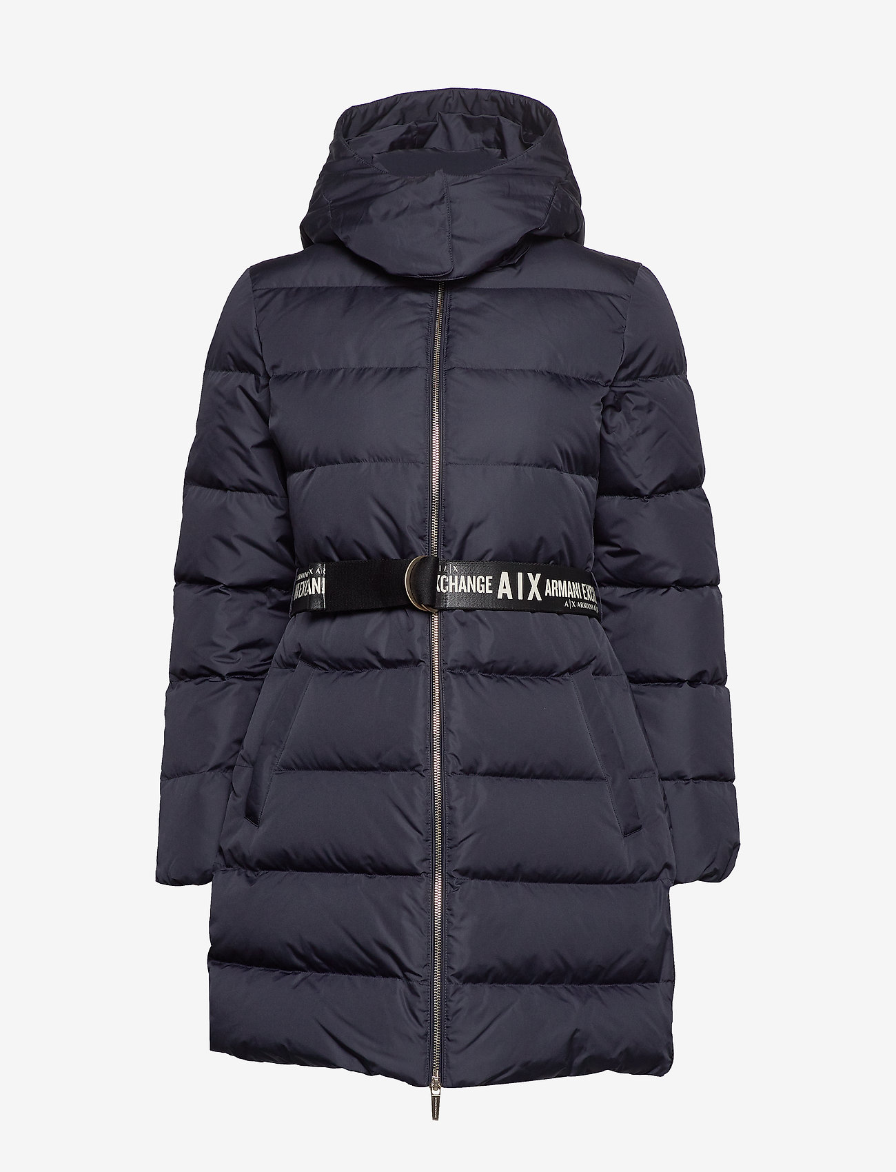 Armani Exchange Ax Woman Down Jacket - Jackor & Kappor Blueberry Jelly