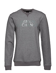 MAN JERSEY SWEATSHIRT - BROS BC09 HTR GREY