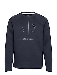 MAN JERSEY SWEATSHIRT - NAVY