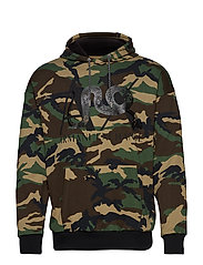MAN JERSEY SWEATSHIRT - GREEN CAMO