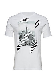 MAN JERSEY T-SHIRT - WHITE