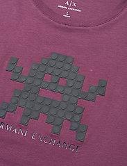 Armani Exchange - 6HZTFD ZJH4Z - t-shirts à manches courtes - grape wine - 2