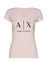AX WOMAN T-SHIRT - COTTON CANDY