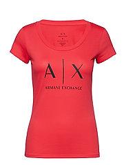 AX WOMAN T-SHIRT - PINK FLAMINGOS