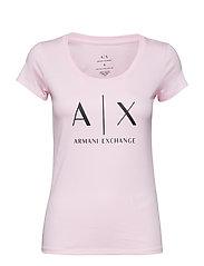 AX WOMAN T-SHIRT - PRETTY IN PINK