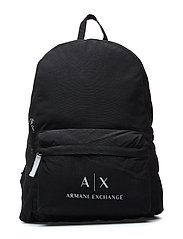 MAN WOVEN BACKPACK - NERO