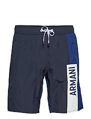 MAN WOVEN BOXER BEACHWEAR - NAVY/BLUE DEPTHS