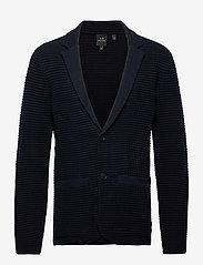 Armani Exchange - 6HZG1B ZMU5Z - single breasted blazers - navy - 0