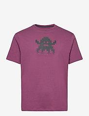 Armani Exchange - 6HZTFD ZJH4Z - t-shirts à manches courtes - grape wine - 0