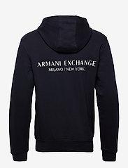 Armani Exchange - SWEATHER - basic sweatshirts - navy - 1
