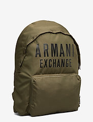Armani Exchange - AX MAN'S BACKPACK - rucksäcke - military green - 2