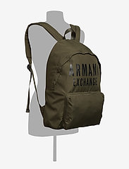 Armani Exchange - AX MAN'S BACKPACK - rucksäcke - military green - 4