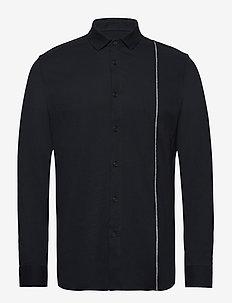 MAN WOVEN SHIRT - chemises basiques - navy