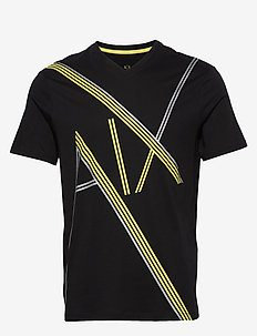 MAN JERSEY T-SHIRT - BLACK