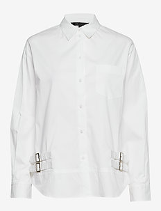 AX WOMAN SHIRT - chemises à manches longues - optic white