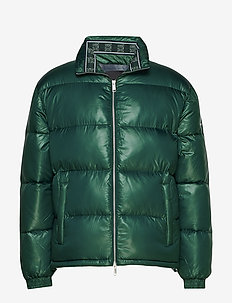 AX MAN DOWN JACKET - JUNE BUG / NAVY CHEC