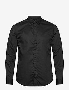 ARMANI EXCHANGE SHIRT - avslappede skjorter - black
