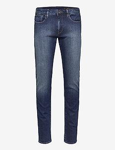 JEANS - slim jeans - indigo denim