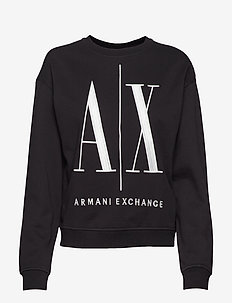 AX WOMAN SWEATSHIRT - BLACK