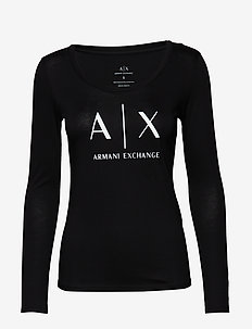 AX WOMAN T-SHIRT - BLACK