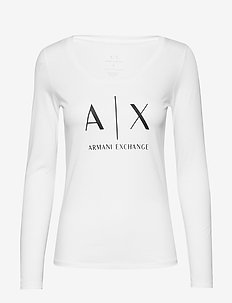 AX WOMAN T-SHIRT - OPTIC WHITE