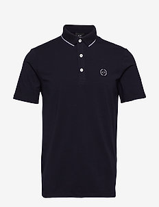 MAN JERSEY POLO SHIRT - NAVY