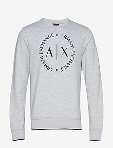 MAN JERSEY SWEATSHIRT - basic sweatshirts - b09b heather grey