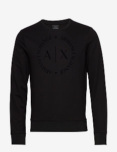 MAN JERSEY SWEATSHIRT - BLACK