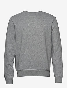 MAN JERSEY SWEATSHIRT - basic sweatshirts - bros bc06 alloy htr
