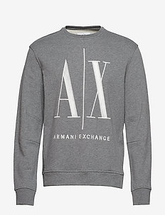 AX MAN SWEATSHIRT - sweats - bc09 grey