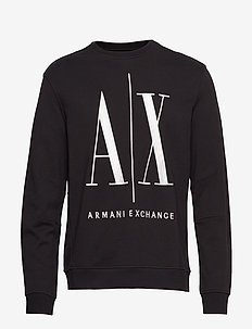 AX MAN SWEATSHIRT - sweats - black
