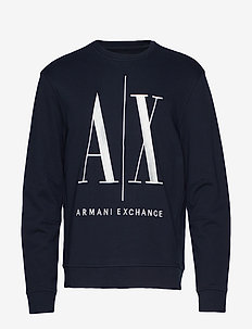 AX MAN SWEATSHIRT - sweats - navy