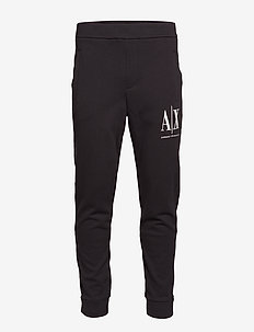 AX MAN TROUSERS - joggings - black