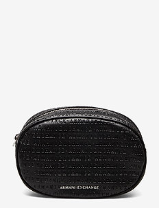 AX WOMAN LEATHER GOODS - sacs banane - nero