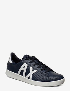 AX MAN SHOES - NAVY+WHITE