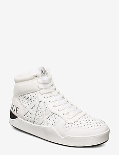 PLASTIC SNEAKER - baskets montantes - optical white