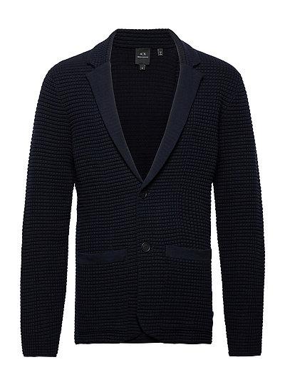Jacket Cardigan Strickpullover Blau ARMANI EXCHANGE