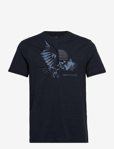 T-SHIRT - short-sleeved t-shirts - navy
