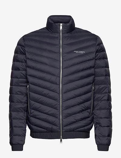 Jacket - padded jackets - navy/melange grey