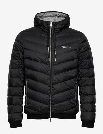 Jacket - padded jackets - black/melange grey b