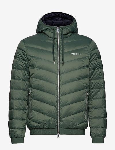 Jacket - padded jackets - deep forest/deep nav