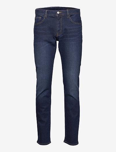 Five pockets - slim jeans - indigo denim