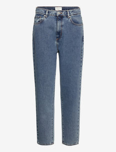 MAIRAA - tapered jeans - mid blue