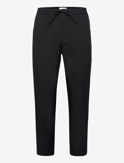 FAARO RIPSTOP - pantalons décontractés - black
