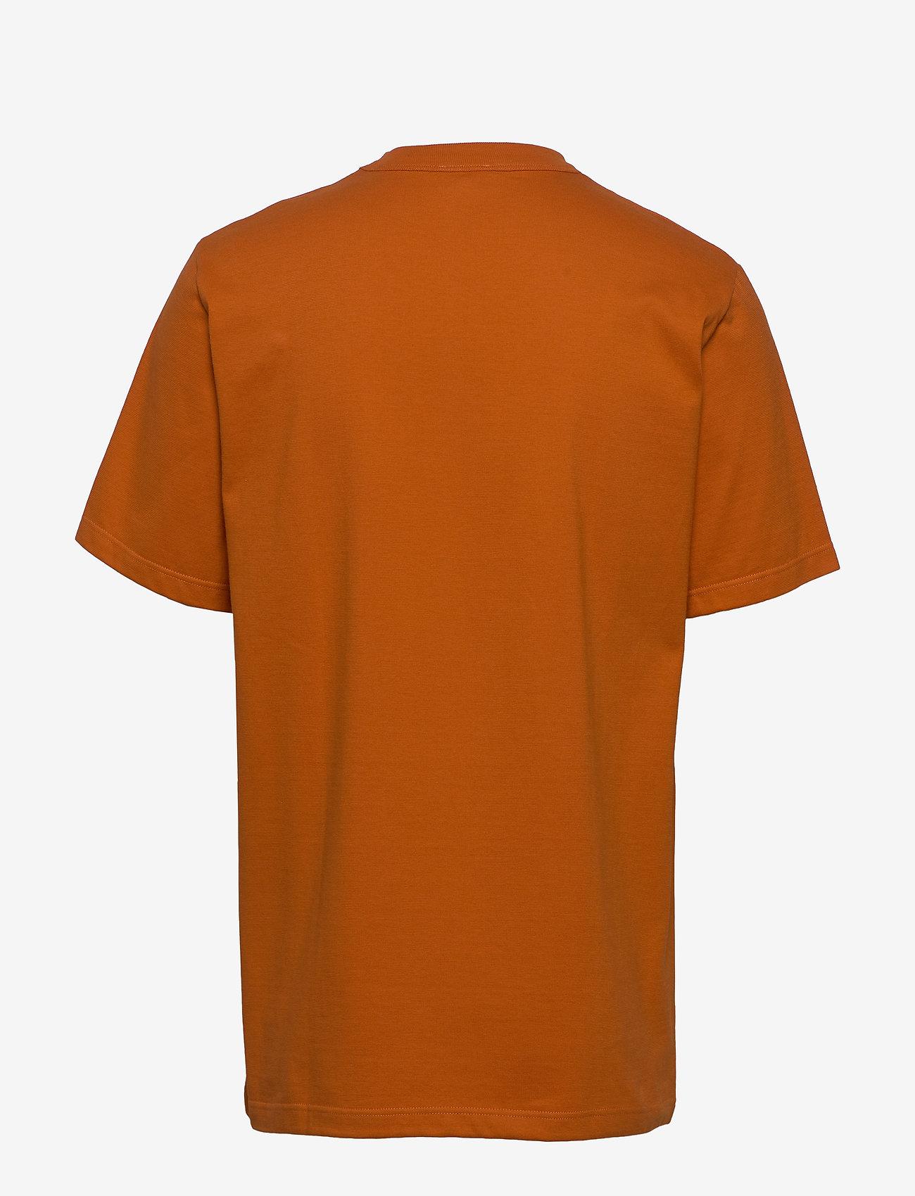 Armor Lux Round Neck T-Shirt - T-skjorter WHISKY - Menn Klær