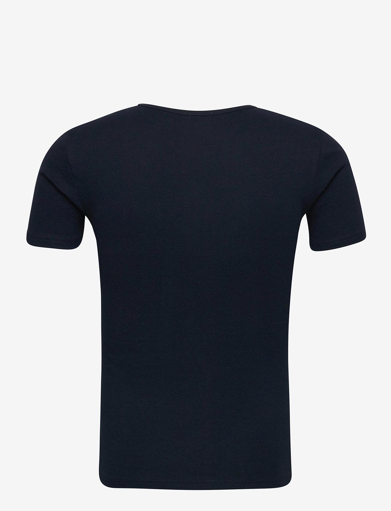 Armor Lux - 2 Pack T-Shirt - t-shirts basiques - blanc/rich navy - 1