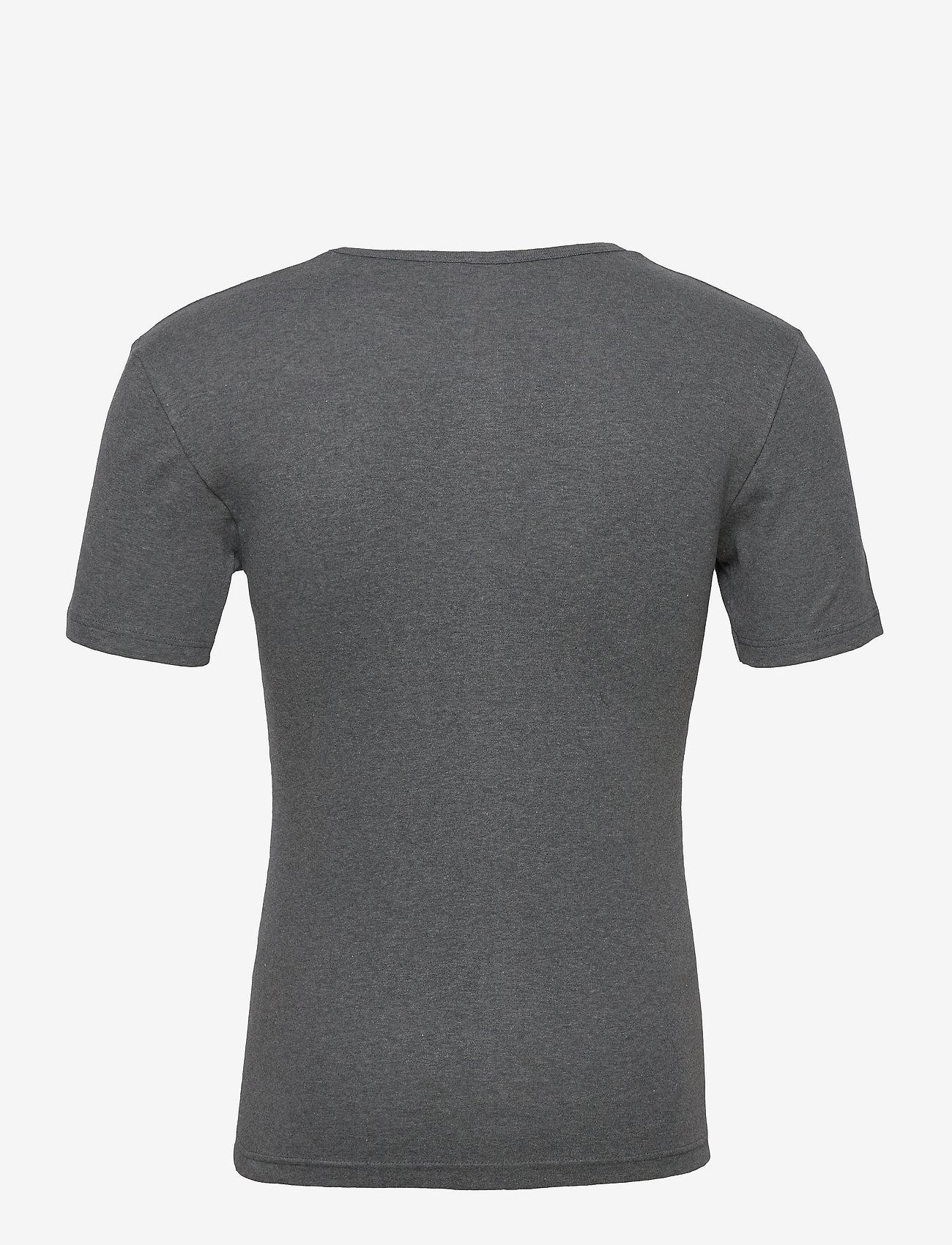Armor Lux 2 Pack Round necked T-Shirt - T-skjorter WHITE/MARL GREY - Menn Klær